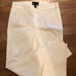 J crew stretch Martie pant in white, never worn